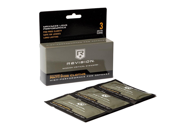 Revision Anti Fog cloth kit