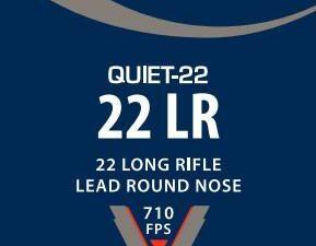 """CCI .22lr 40gr LRN """"Quiet 22"""""""