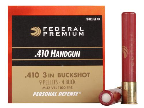 "Federal Premium PD .410 000 Buck 3"" (Box of 20)"