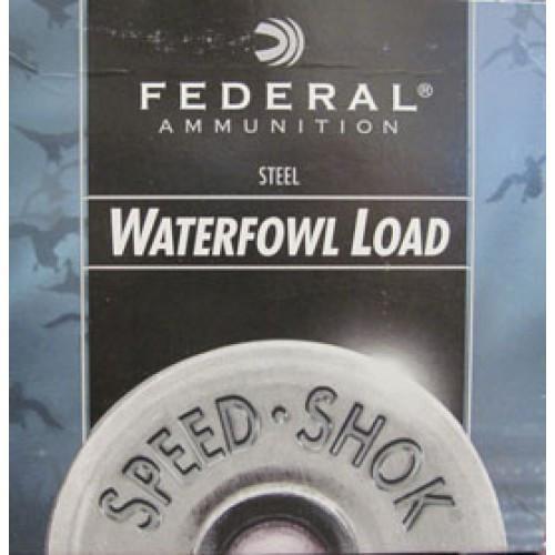 "Federal Speed-Shok 12 Gauge2 3/4"" 1 1/8 Oz. BB (25 Shells)"