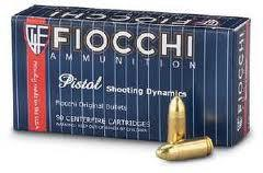 Fiocchi 7.65 Browning / .32 ACP 73 gr FMJ (50 Rounds)