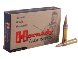 Hornady Match Ammunition 300 Winchester Magnum 178 Grain A-Max Boat Tail Box of 20