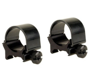 "Weaver detachable top mount rings 1"" medium matte black"