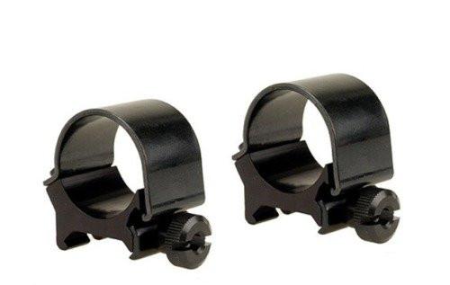 "Weaver detachable top mount rings 1"" medium matte black"