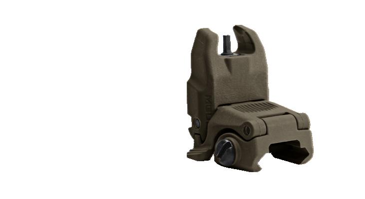 MBUS Magpul back up sight - Front