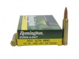 Remington Core Lokt .300 Winchester Magnum 180 gr  (20 rounds)