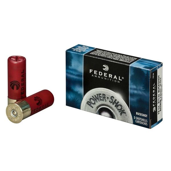 Federal 12 ga 23/4 000 Buckshot