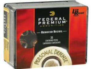 Federal Premium .45 ACP 165gr Low Recoil Hydra-Shok (200 Rounds)