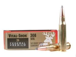 Federal Premium Vital-Shock .308 Win 165 Gr Sierra Game King BTSP (20 Rounds)