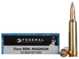 Federal 7mm Rem. Magnum 150 gr SP (20 rounds)