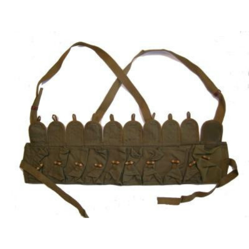 Chinese military  SKS ammunition bandolier