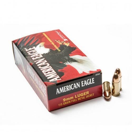 American Eagle 9mm 115 gr FMJ (Box of 50)