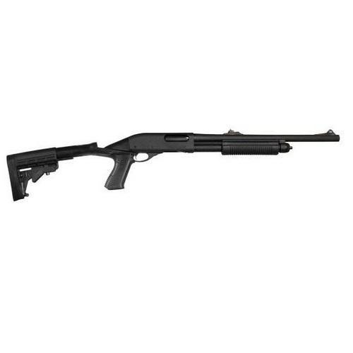 Remington 870 Police Parkerized With Rifle Sights/ Knoxx