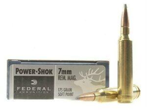 Federal Power Shok 7mm Rem. Magnum 175 gr SP (20 rounds)