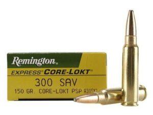 Remington 300 Savage 150 Gr Core-Lokt