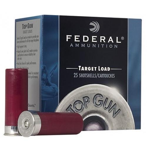 "Federal Target Load 12 Ga 2 3/4"" #7.5 Shot (250 Shells) 2 3/4 Dram"