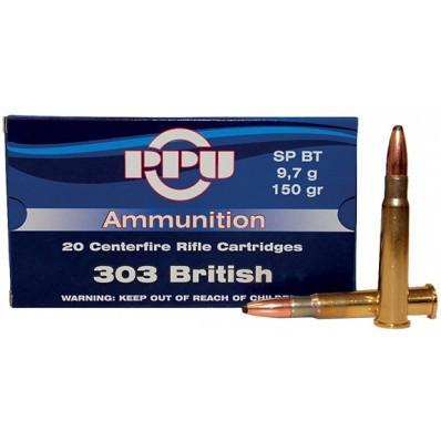 PPU .303 British 150 Gr