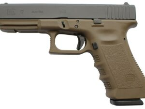 Glock 17 Gen 4 Dark Earth Frame