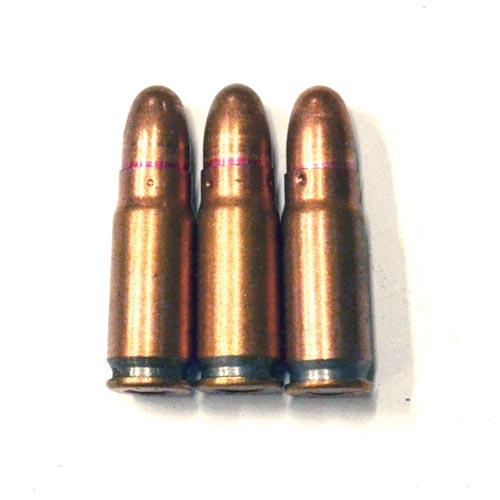 70 rounds of Chinese military surplus Copper Washed 7.62x25 FMJ