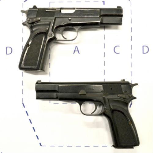 FN Hi Power Israeli Pattern - Surplus Shooter grade - 9mm