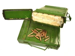 """1000 rounds of Chinese military surplus """"Commando Packs"""" Ammo Can - 7.62x39 FMJ"""