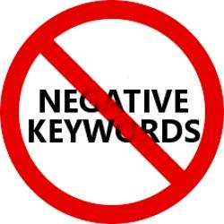 Forget Negative Keywords