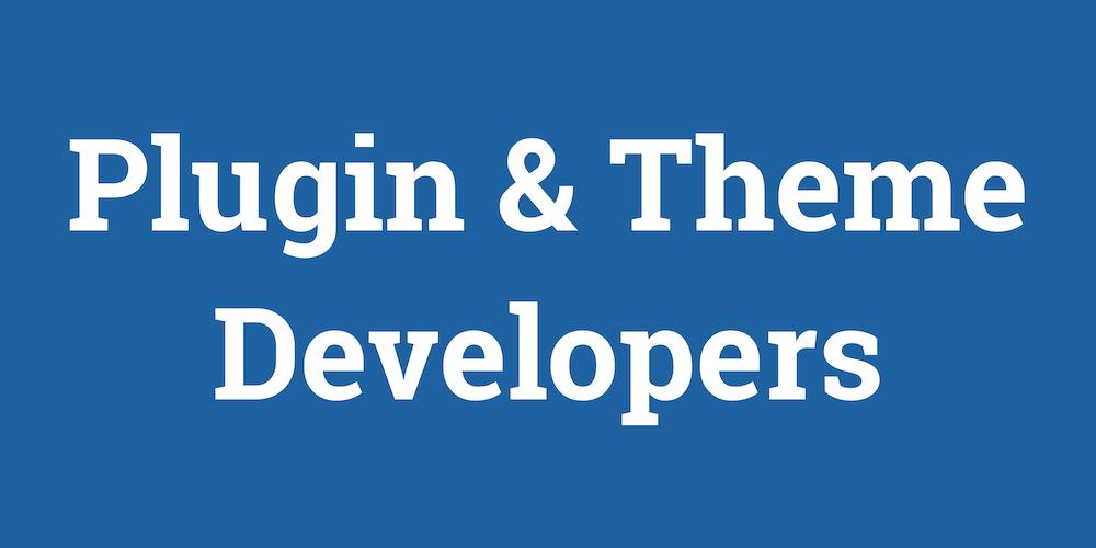 plugin-theme-developers