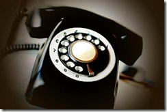 Do you hang up the  phone wrong?