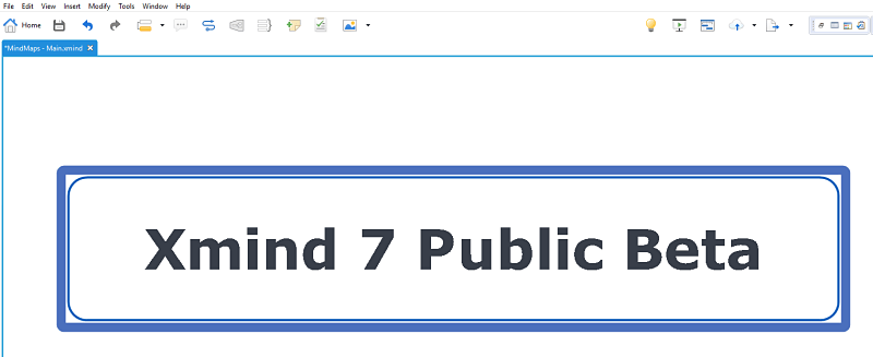 XMind 7 Public Beta is here