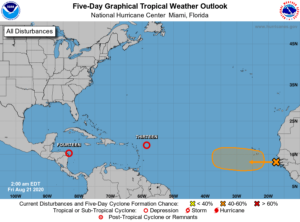 Tropical Stormy Weather Ahead