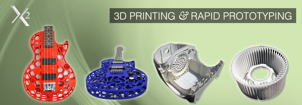 SLS Selective Laser Sintering Prototype - SLA Sterolithography Prototype - Plastic Resin 3D Models