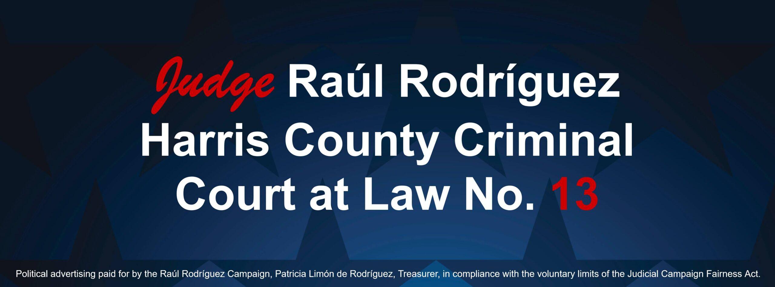 Judge Raúl Rodríguez