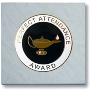 Perfect Attendance Paperweight S-503
