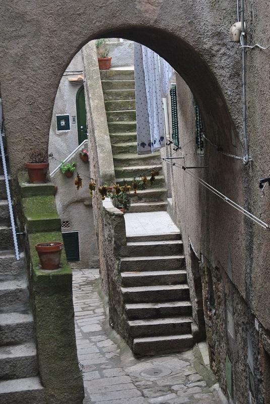 steegje in Giglio Castello