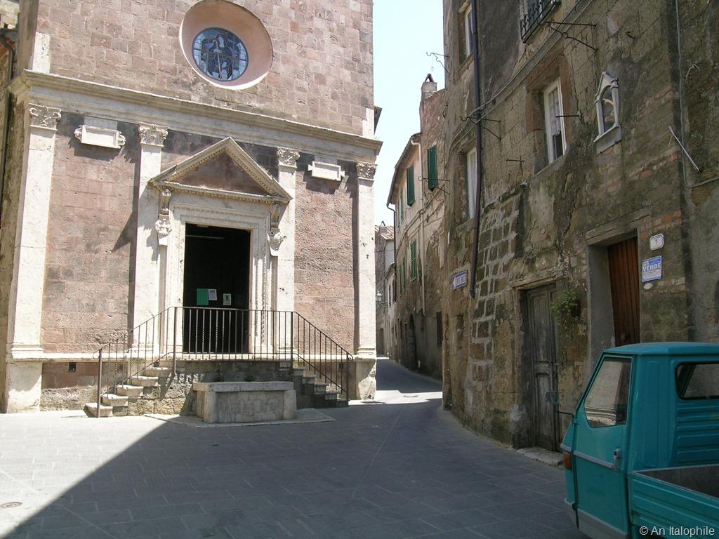 Kerk San Rocco en Santa Maria
