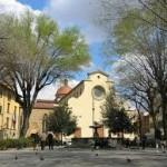 De kerk Santo Spirito in Firenze