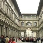 Het Uffizi museum