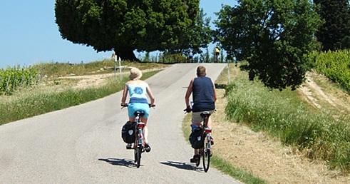 fietsen in Chianti