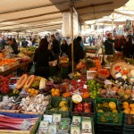 De markt Sant'Ambrogio in Florence