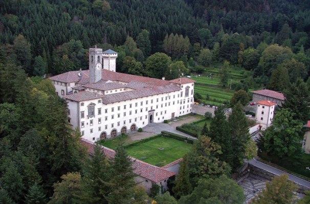 De abdij van Vallombrosa