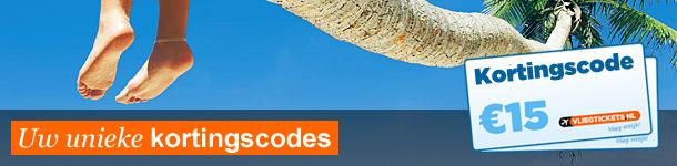 kortingscode vliegtickets.nl