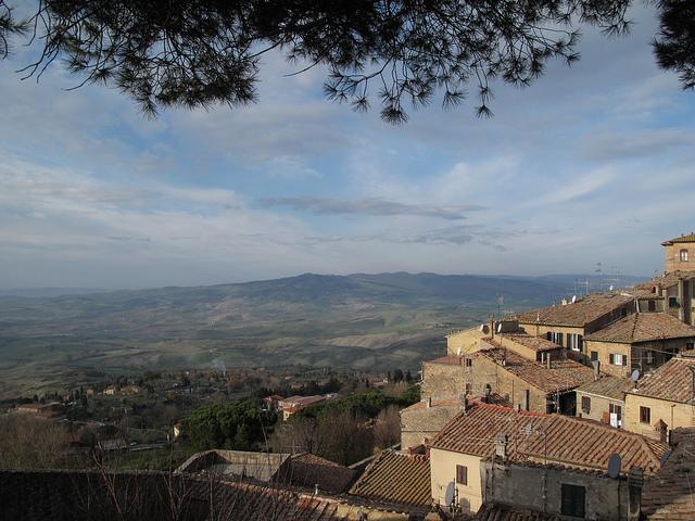Heuvels rondom Volterra -foto genomen door Profernity