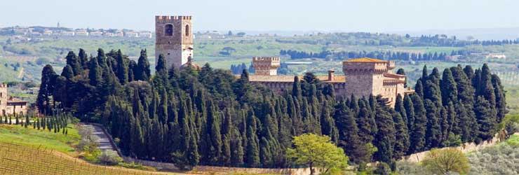 Het klooster in Passignano