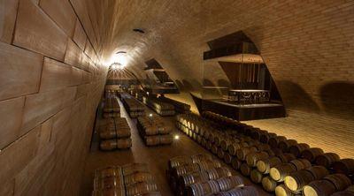 Wijnkelder in het domein Antinori