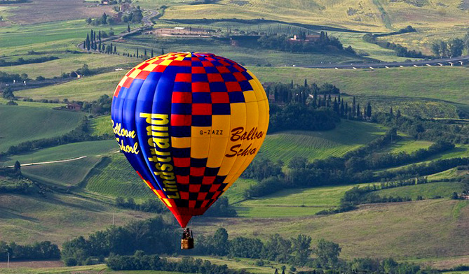 ballonvaart Toscane
