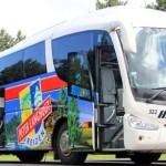Zonder zorgen met de luxe bus naar Toscane