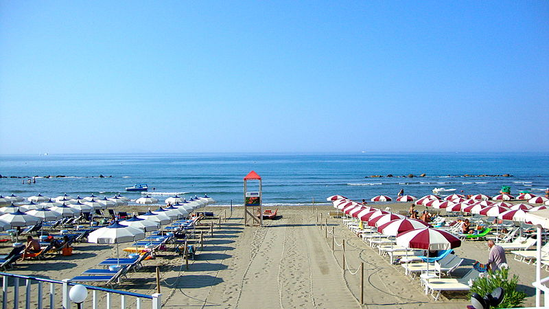 Strand in Castiglione della Pescaia