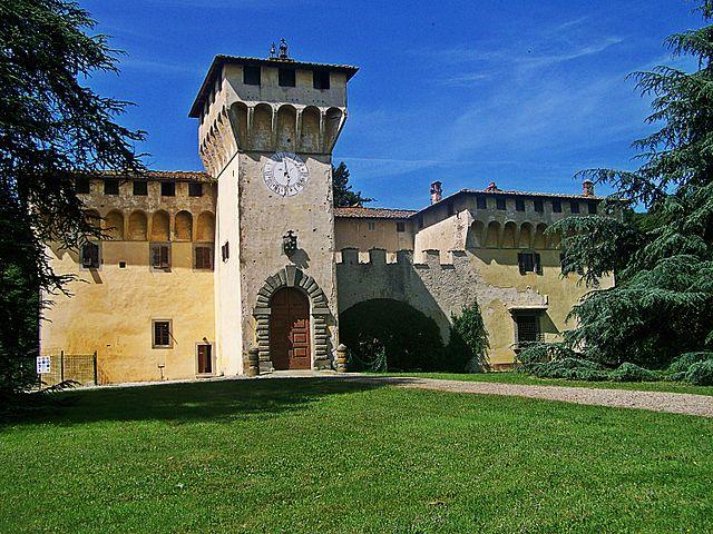 De Medici villa Cafaggiolo