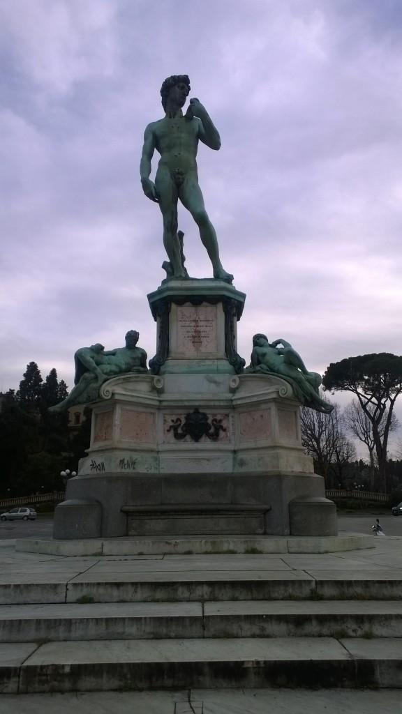 kopie van De David van Michelangelo
