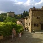 """""""Il Borro"""" een middeleeuws gehucht in de Valdarno streek"""